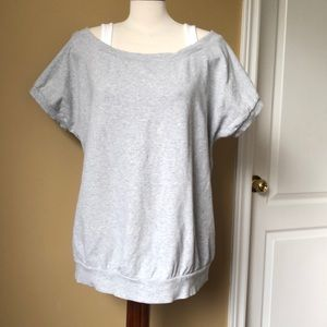 Plus size layered look top
